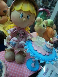"""""""FOFUCHAS"""" ((3D Craft Foam Art))  100% Foamie 3D Dolls!!!"""