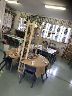 18 Ideas for classroom organization eyfs learning environments Preschool Classroom Decor, Eyfs Classroom, Classroom Setting, Classroom Setup, Classroom Design, Classroom Displays, Year 1 Classroom Layout, Learning Spaces, Learning Environments