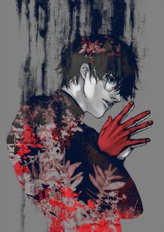; when Arima died I was obviously upset. part of it was for not having that certain daddy crush anymore. But after that Kaneki changed again and became this hot shit. Sure he got some of this from his hot father ;)