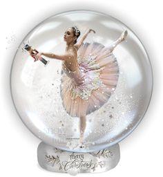 """** ♥♥ ** Nutcracker Snow Globe ** ♥♥ **"" by fashionfever13 ❤ liked on Polyvore"