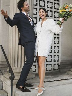 Complete your winter wedding look with these 15 winter wedding shoes. Wedding Looks, Dream Wedding, Courthouse Wedding Dress, City Hall Wedding, Civil Wedding, Elopement Inspiration, Intimate Weddings, Bridal Style, Wedding Bells