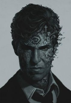 True Detective by Yura Shwedoff / Moscow, Russia #matthew #mcconaughy #true #detective #illustration