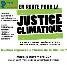 EN ROUTE POUR LA JUSTICE CLIMATIQUE