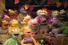 Fraggleslookup Clever Dog, Underground World, Fraggle Rock, The Muppet Show, Puppet Show, Night Terror, Jim Henson, The A Team, Street Photo