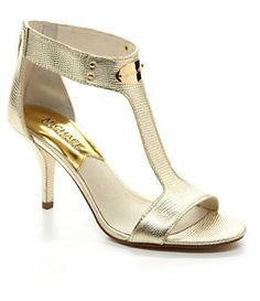 MICHAEL Michael Kors MK Plate Dress Sandals | Dillard's Mobile