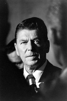 Ronald Reagan photographed by Ralph Crane
