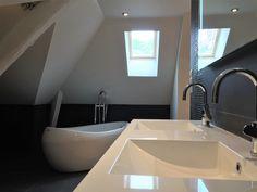 salle de bain design baignoire ovale rnovation maison architecte dintrieur - Salle De Bain Design Contemporain