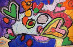 abstract heart art - Google Search