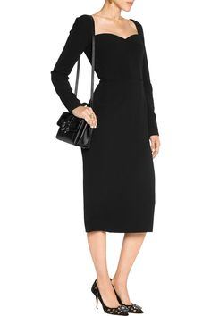 Shop on-sale Dolce & Gabbana Stretch-crepe dress. Browse other discount designer Dresses & more on The Most Fashionable Fashion Outlet, THE OUTNET.COM