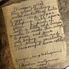 Old Fashioned Vinegar Pie