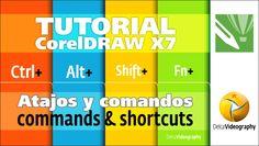 (BÁSICO) TUTORIAl 2 Corel DRAW X6, X7: Comandos y atajos prácticos/Comma...