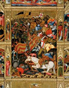 Batalla del País. Conquista de Valencia por Jaume I de Aragon.