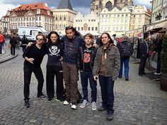 "55 kedvelés, 1 hozzászólás – ᕮᗪᑌ ᑕOᗰIᑎᗩTO (@educominato) Instagram-hozzászólása: ""#tbt SOTO takes Prague in 2014!!! Good times!! #sototheband #prague #tour #music #band #tourlife…"""