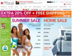 *Macy's* Get An EXTRA 20% OFF On ALL Sale & Clearance Apparel! Sale Ends Wednesday 13th June 2012.  http://dealspl.us/macys-coupons/436928p