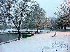 Hard to believe this snow was Easter Sunday in Central Texas.