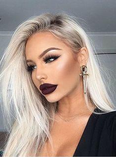 7 Superstar Skin Care Ingredients Dermatologists Love - Make Up Gorgeous Makeup, Love Makeup, Makeup Inspo, Makeup Inspiration, Makeup Tips, Makeup Looks, Makeup Ideas, Makeup Style, Makeup With Dark Lips