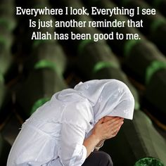Thank you Allah for choosing me and guiding me to Islam alhamduillah.