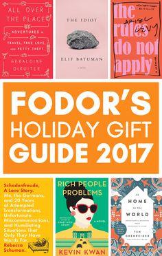 92b11e75b9 Fodor s Holiday Gift Guide 2017  Books