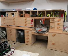 The Ultimate Miter Saw Station