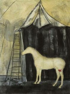 Gallery Direct Fine Art Prints: Pony Show I by T Graham