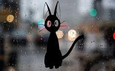 Jiji The Cat Returns Cute Anime Funny Car Vinyl by VDestination