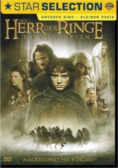 Der Herr der Ringe - Die Gefährten  2001 New Zealand,USA      Jetzt bei Amazon Kaufen Jetzt als Blu-ray oder DVD bei Amazon.de bestellen  IMDB Rating 8,8 (640.487)  Darsteller: Alan Howard, Elijah Wood, Noel Appleby, Sean Astin, Sala Baker,  Genre: Action, Adventure, Fantasy,  FSK: 16