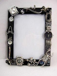 Mosaic Art Watch Jewelry Embellished Photo by ArtCreationsByCJ
