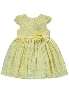 Corsage Trim Floral Print Dress, read reviews and buy online at George at ASDA. Shop from our latest range in Baby. If they have a special occasion to go to,...