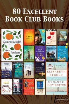 These recommended book club books are versatile enough to appeal to multiple tastes, but complex enough to spark endless discussion. #books #bookclub #bookclubooks