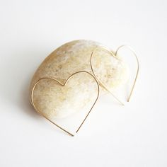 Thanks Hooks + Luxe, for making us realize just how badly we needed heart shaped earrings..
