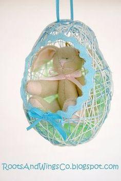 String Egg (Balloon Egg)