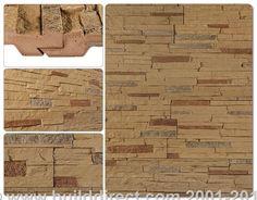 BuildDirect: Faux Stone Siding Panels Faux Stone Siding   Stacked Stone   Stony Buff