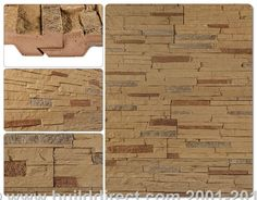 BuildDirect: Faux Stone Siding Panels Faux Stone Siding   Stacked Stone   Stony Buff