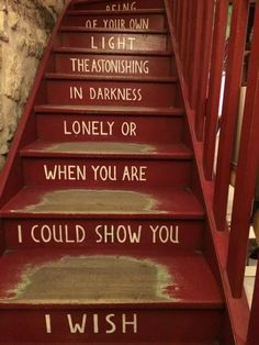 This is the Staircase In Shakespeare And Company, Bookstore, Paris, Franc