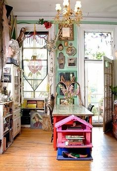Gypsy:  #Bohemian kitchen.