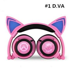 Overwatch D.VA Portable Wired Headphone CP178809