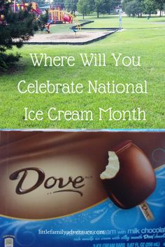 Where Will You Celebrate National Ice Cream Month? We love taking MARS Ice Cream Bars to the park becuase there is nothing better than ice cream on a hot summer day | Little Family Adventure | #IceCreamMonth #ad