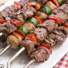 Beef Teriyaki Kabobs