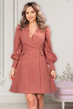 Tuxedo Dress, Coats For Women, Shirt Dress, Floral, Jackets, Shirts, Outfits, Dresses, Fashion