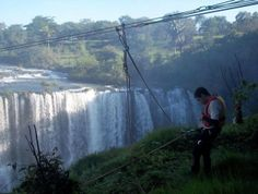 Cachoeira do Rio Claro , New Bridge, MG