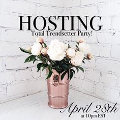 #1 Comments Full! See 2nd Listing!  I'm so excited to announce that I'll be co-hosting my very first posh party with my PFF's Elisa, Emma, & Virginia!   Date: April 28th Time: 10pm EST Theme: Total Trendsetter RSVP: Follow & Comment below for host pick consideration!  I'll be searching for posh compliant closets with beautiful cover shots!  Wow me ladies!   Can't wait to party with you all!   xoxo, Inna  : laurenconrad.com Other