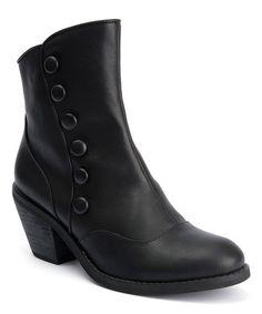 Black Gringo Bootie #zulily #zulilyfinds