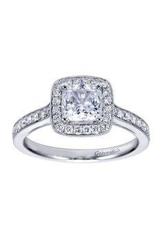 Engaged by Gabriel & Co. - W-ER7527D4 | Photos | Brides.com