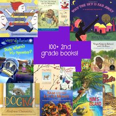 Ginormous #booklist for second graders! Everything from classics to non-fiction, keep your child inspired to read! #kidlit