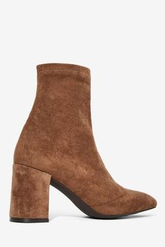 Jeffrey Campbell Cienega Ankle Boot - Taupe - Boots + Booties | Back In Stock…