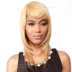 Wig Extension Sale - http://www.wigextensionsale.com/products/r-b-malaysian-human-hair-blend-wig-h-me.html