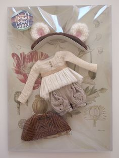 Cosy Bear Set for Neo Blythe by Mformonkey Doll not Included | eBay