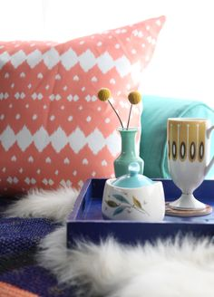 Styled Vignette for the Hammocks and High Tea Giveaway