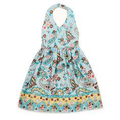 Halter Dress with Paisley Print $11.99