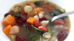 Copycat Olive Garden Minestrone Soup.